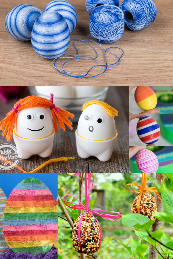 7 Fun Easter Egg Alternatives that Do Not Require Egg Dyeing