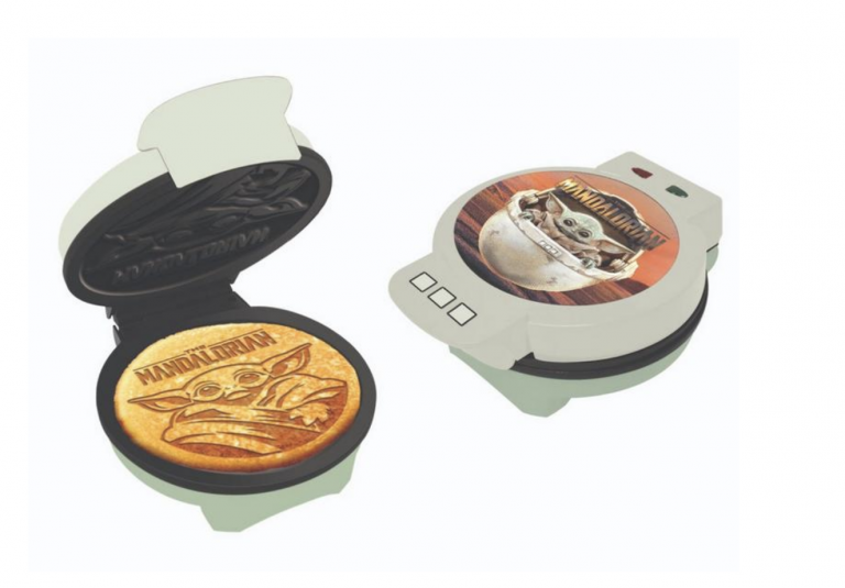 You Can Get A Baby Yoda Waffle Maker For A Force That Is Strong with Breakfast