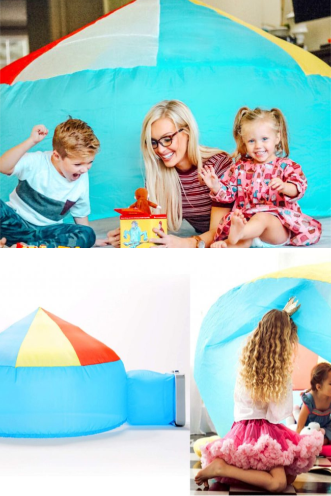 You Can Get An Air Fort To Keep Kids Entertained While Stuck Inside