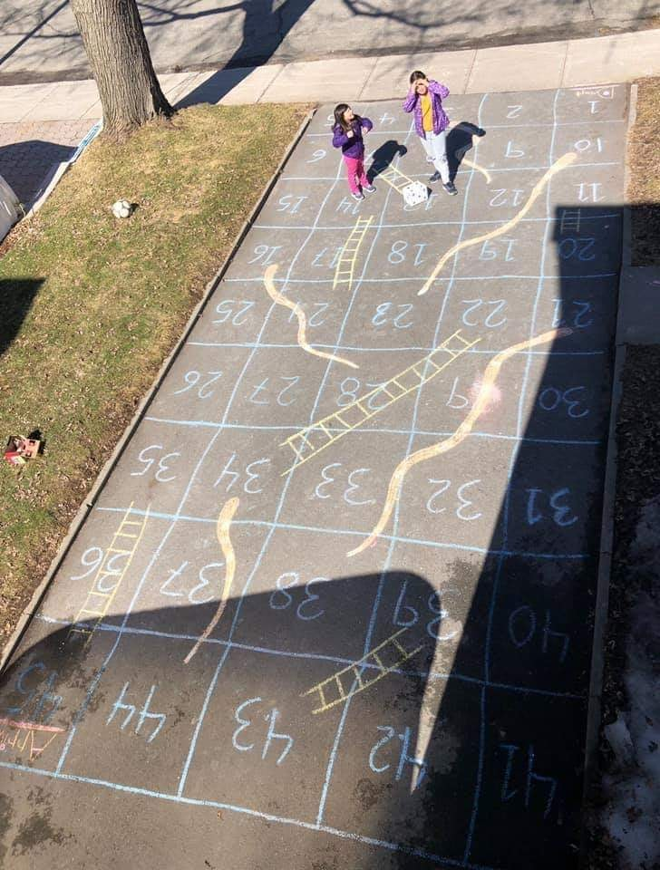 Fun Chalk Board Games Your Kids Can Create While Playing Outside
