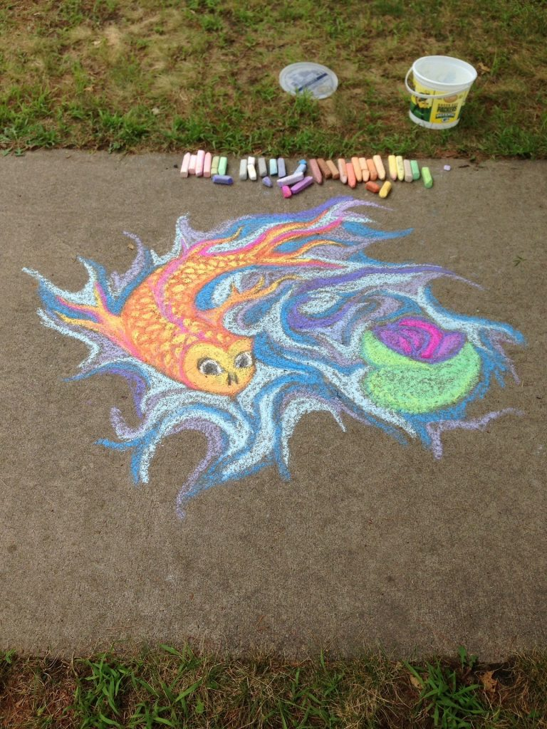 How to Host A 'Chalk Your Walk' Event In Your Neighborhood
