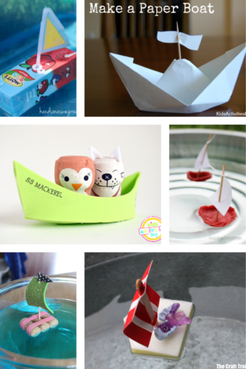 craft a boat for kids