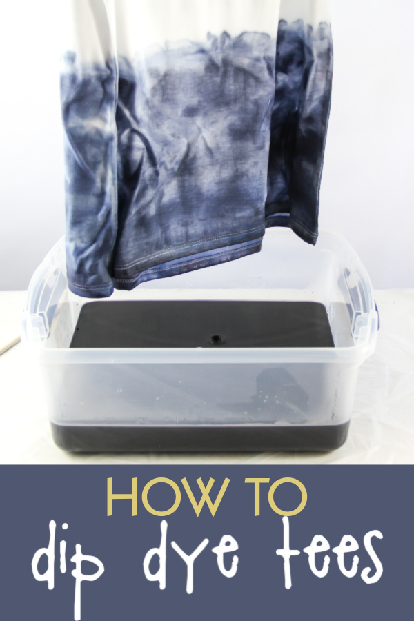 Dip Dye Tee Project for Children and Caregivers with Arthritis