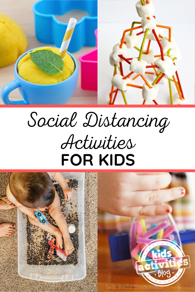 social distancing activities kids 1