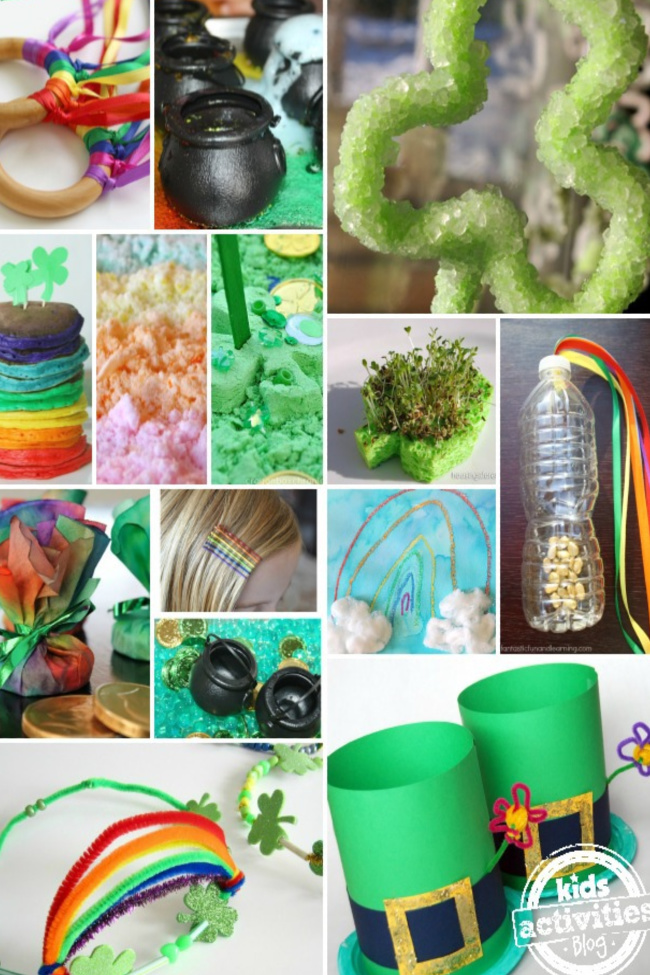 Over 100 St. Patrick's Day Crafts and Activities