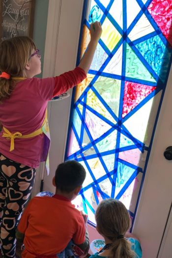 People Are Making Their Own Stained Glass Window and Here's How You Can Too