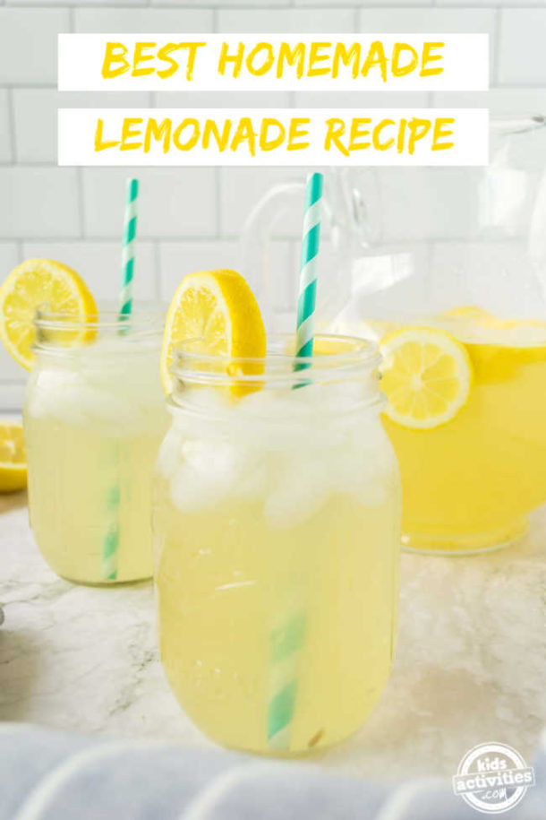 Absolutely The Best Homemade Lemonade Recipe Ever