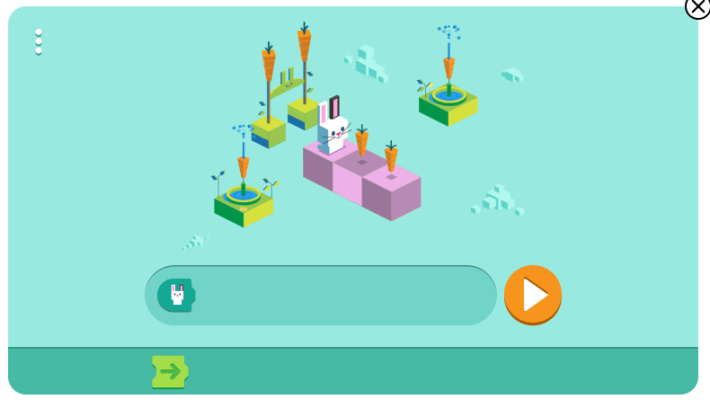 Coding for Carrots Google Doodle Screenshot - Kids Activities Blog