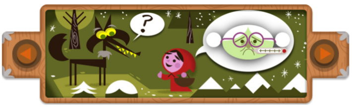 Featured Google Doodle 200th Anniversary screenshot - Kids Activities Blog