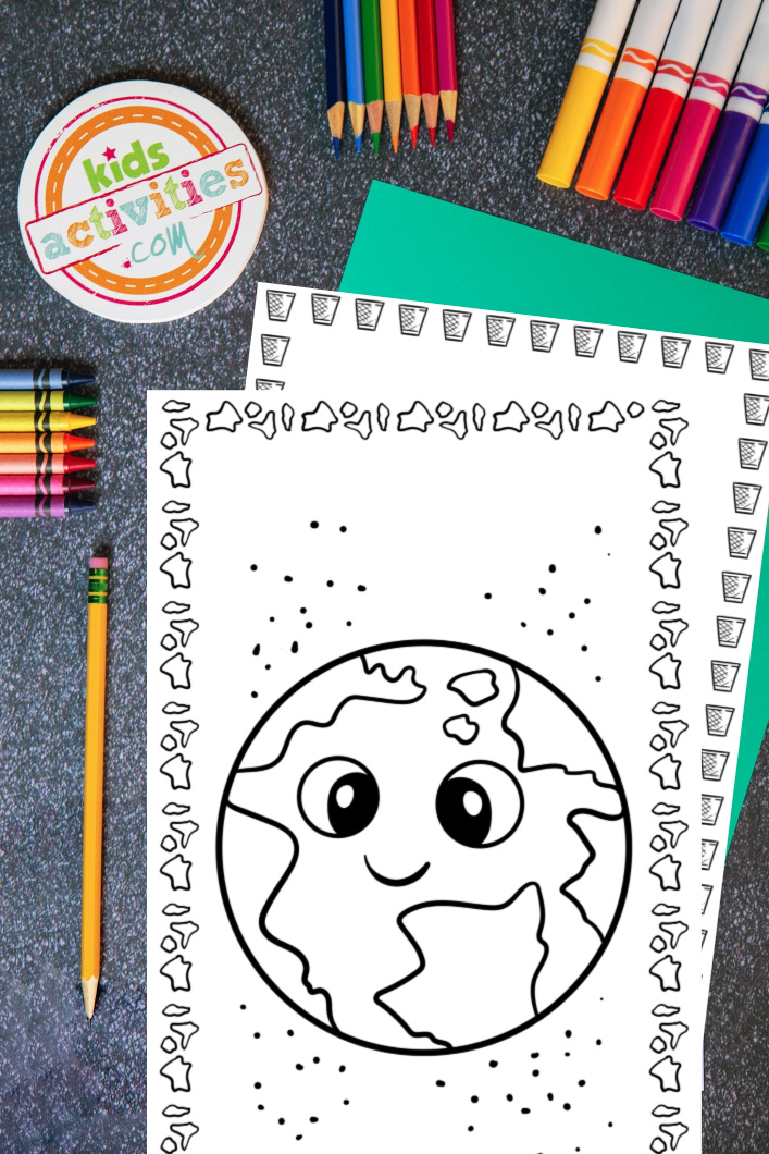 Free Earth Day Printable Coloring Pages to Download & Print