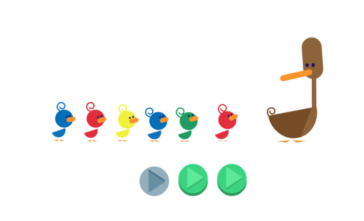 Interactive Google Doodle screenshot from mothers day 2019 - Kids Activities Blog