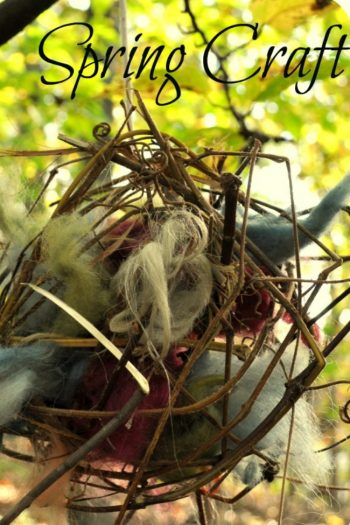 Nest Ball for the Birds {Easy Spring Craft}