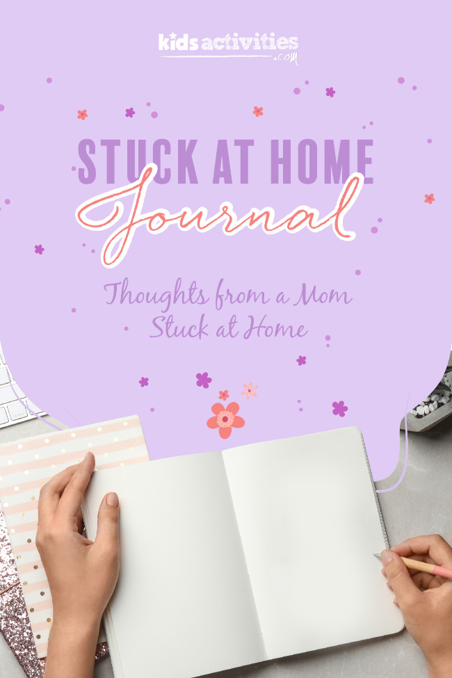 Stuck at Home Quarantine Journal: Home School First Day Findings