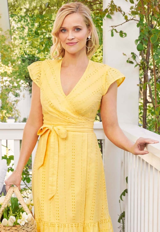 Here's How Teachers Can Get a Free Dress from Reese Witherspoon's Clothing Line