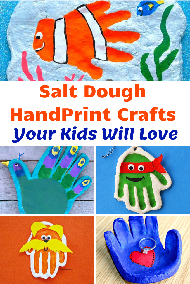 Salt Dough Handprint Crafts Your Kids Will Love