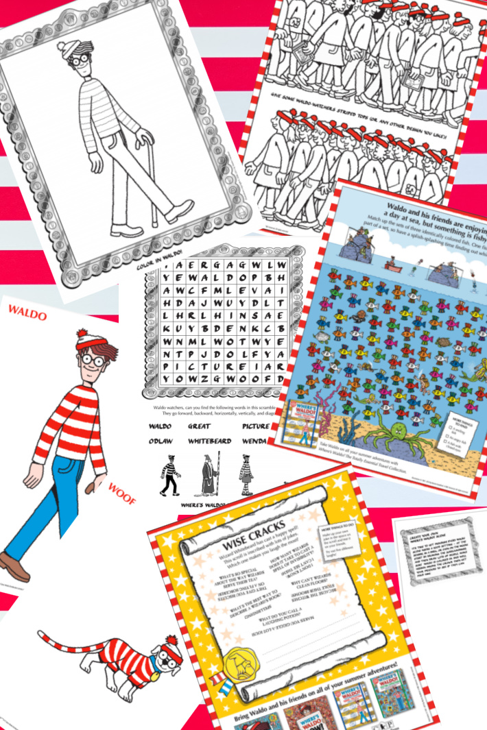 Where's Waldo? Free Activities, Printables & Hidden Resources For Kids {Giggle}