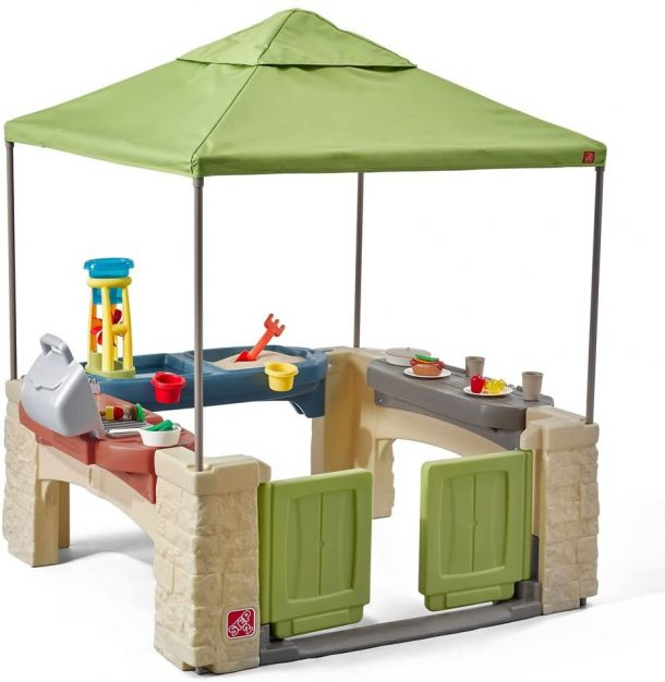 Step 2 outdoor playhouse with canopy