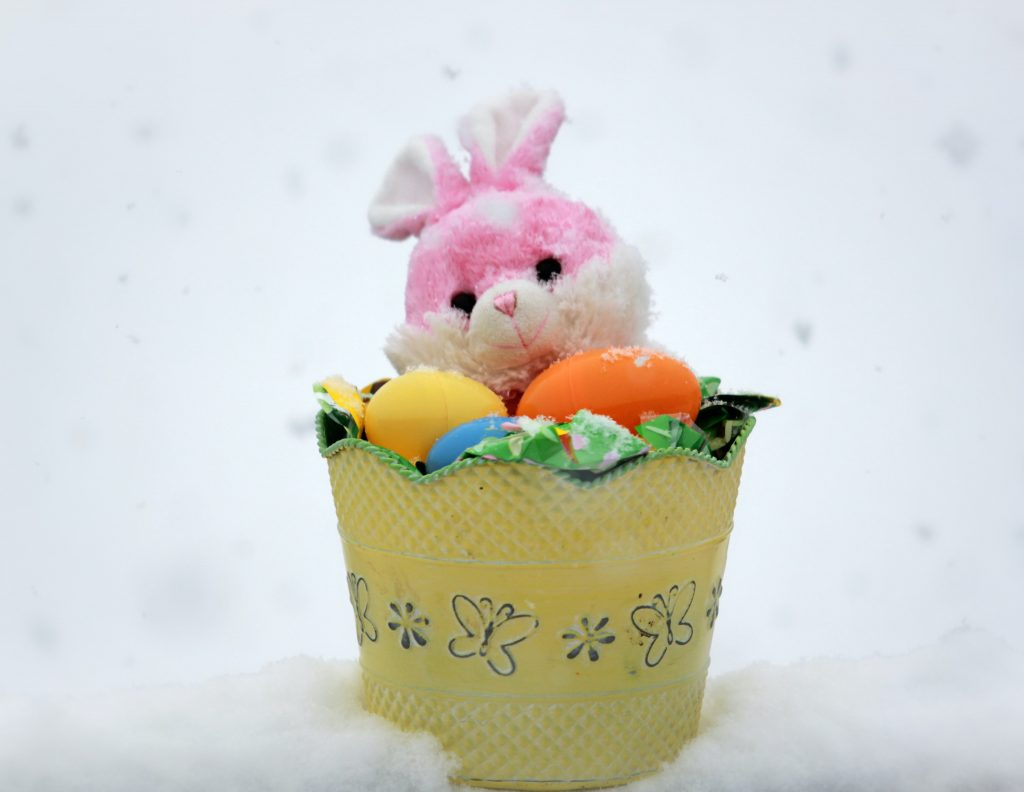 Easter basket delivery can be tracked with the Easter Bunny tracker starting on Easter eve.