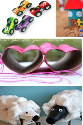 25 Amazingly Fun and Easy Toilet Paper Roll Crafts