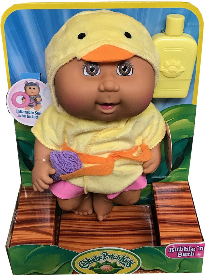 Bath and Bubble Cabbage Patch Kid - baby doll that can swim or play in tub
