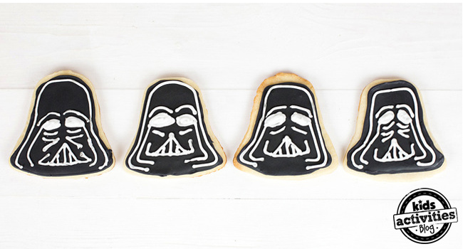 How to Make Darth Vader Cookies - Step 6