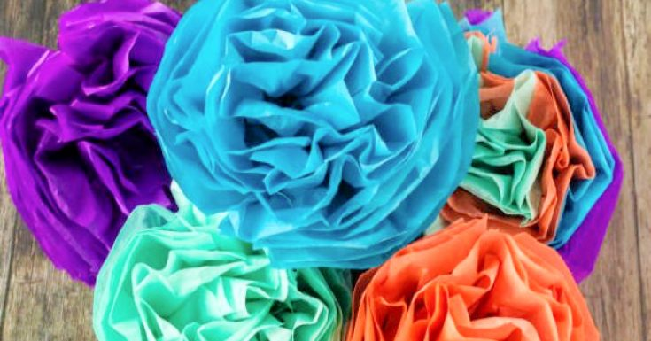 How to make tissue paper flowers for Cinco de mayo celebration - Kids Activities Blog fb