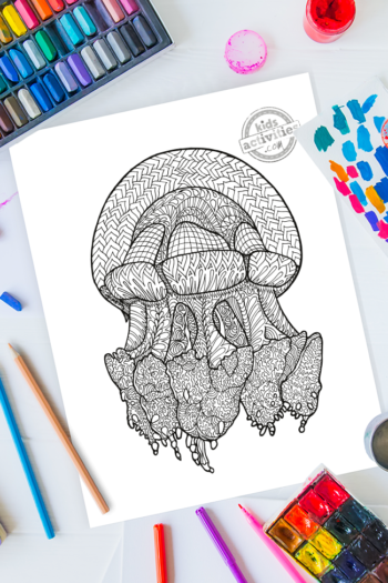Zentangle coloring pages are a great way to create your own art by coloring unique doodle patterns