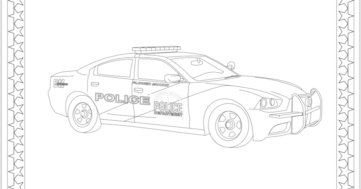 - Police Officer Coloring Pages