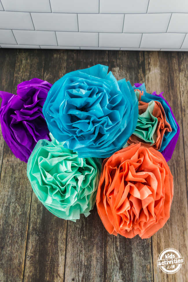 How to Make Mexican Paper Flowers for Cinco de Mayo Decorations