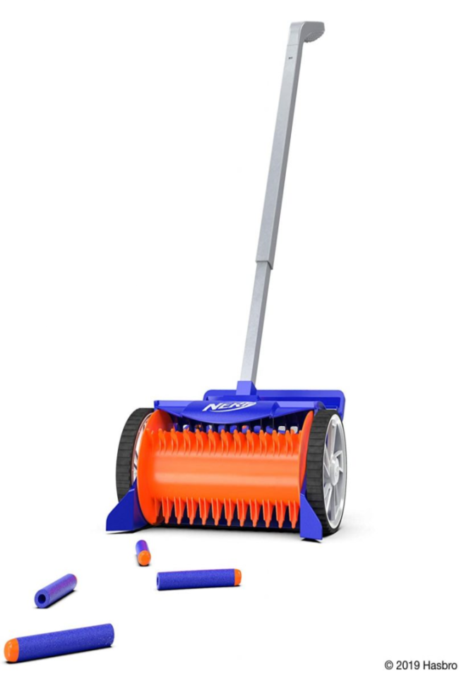 You Can Get A NERF Dart Vacuum to Make Cleaning Up Darts A Breeze
