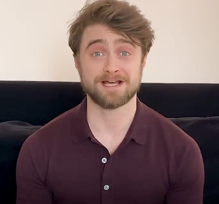 Daniel Radcliffe Will Read 'Harry Potter' To Your Kids At Home. Here's How.