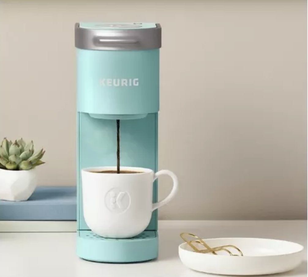 Target Is Selling Mini Keurig Coffee Makers In Different Colors And I Call Dibs On The Mint One
