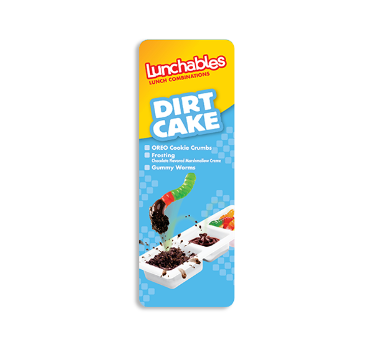 Dirt cake lunchables