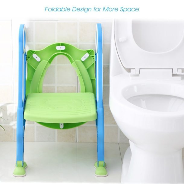 foldable toilet seat