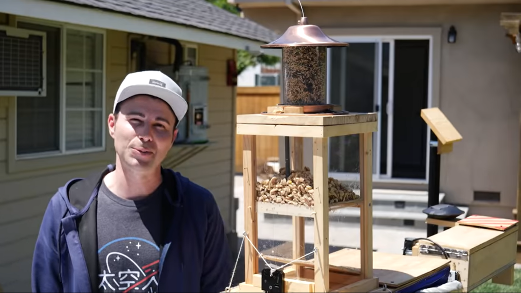 Mark Rober squirrel obstacle course