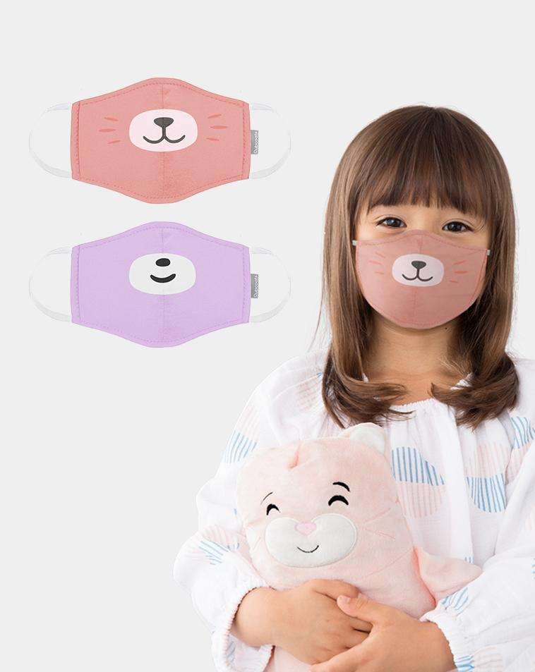 Cute Animal Face Masks for Kids