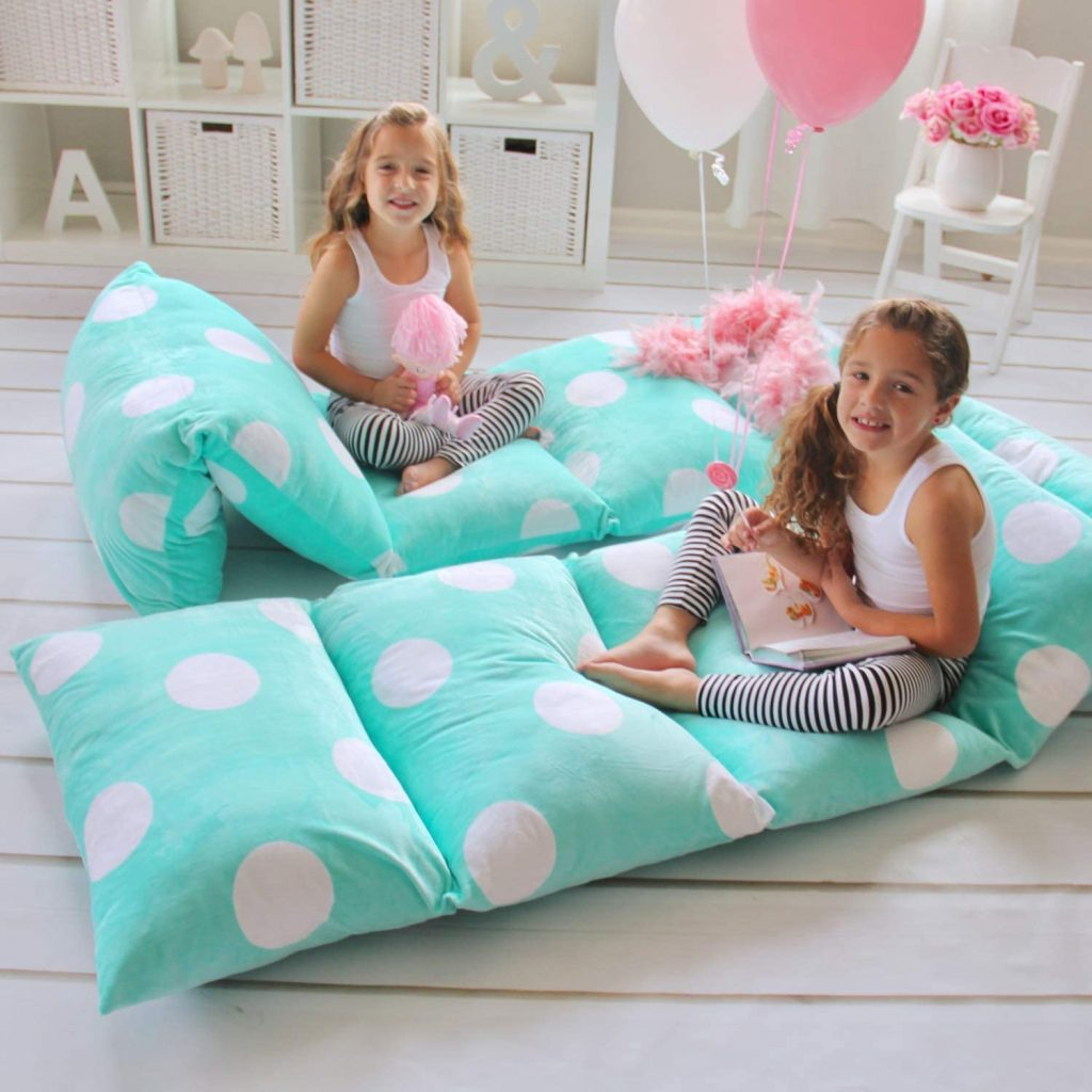 Pillow bed seat cover