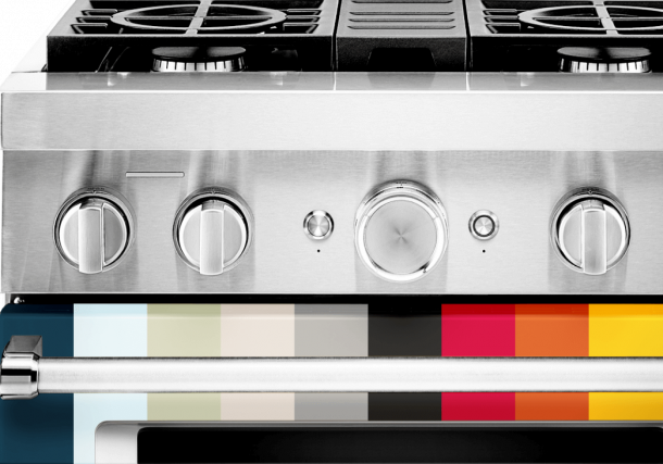 KitchenAid gas range colors