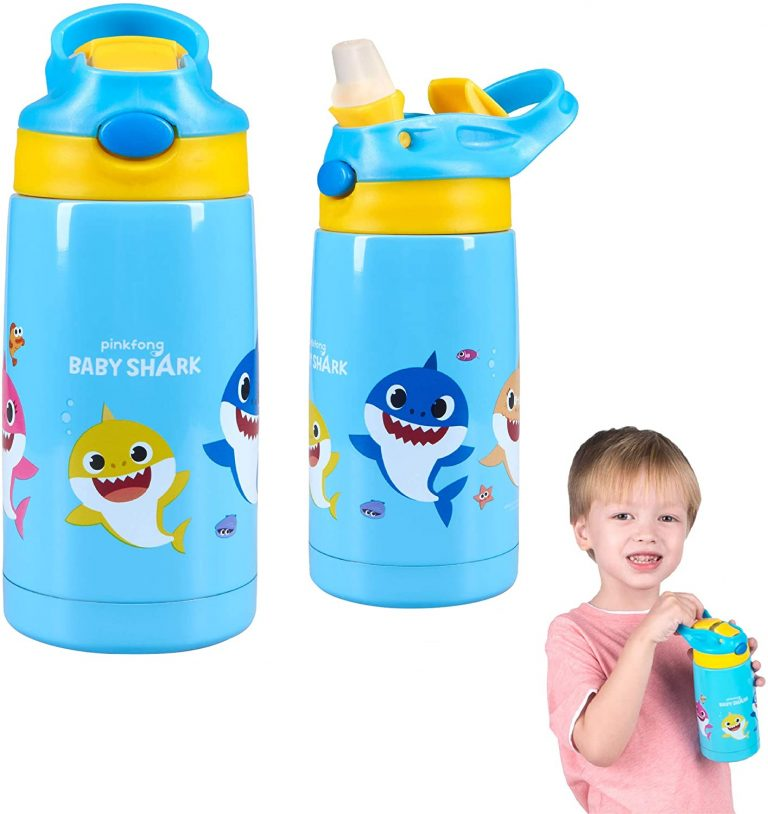 You Can Get Your Kids to Drink More Water with a Baby Shark Water Bottle