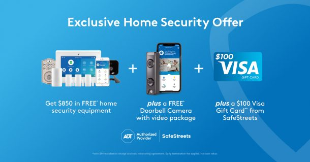Safe at Home SafeStreets Home Security System