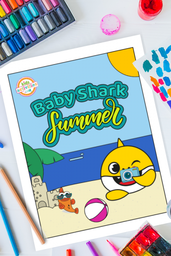 Baby Shark Summer Holidays Printables