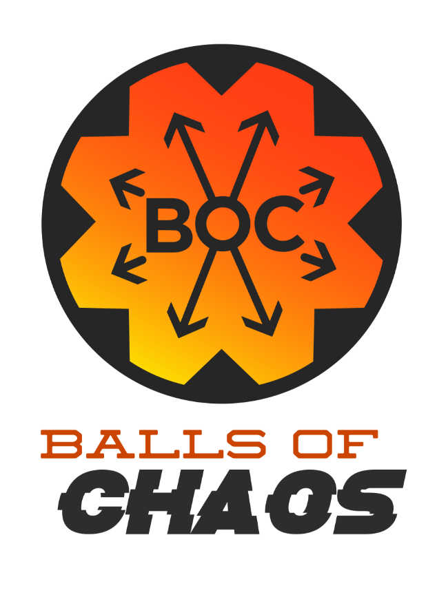 Balls of Chaos logo Marble Runs 2020
