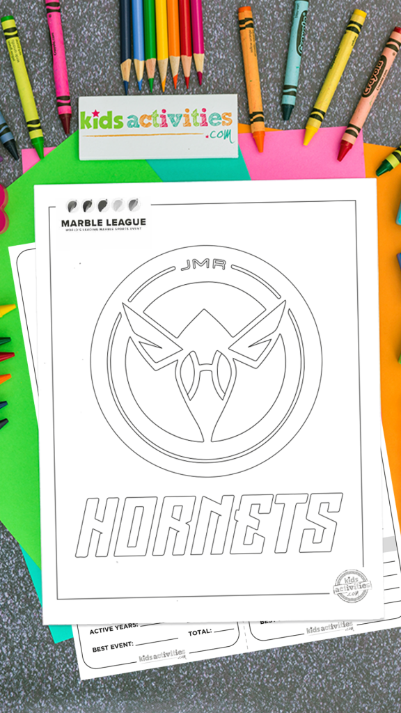 The Hornets Jelle's Marble Runs Printables