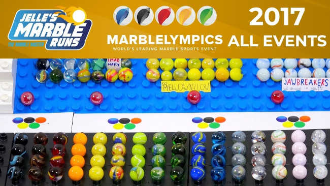 Marble League 2017 All events
