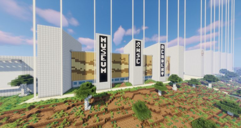 Two Teens Recreated Their High School in Minecraft Using Nearly 10 Million Blocks and It Is Incredible
