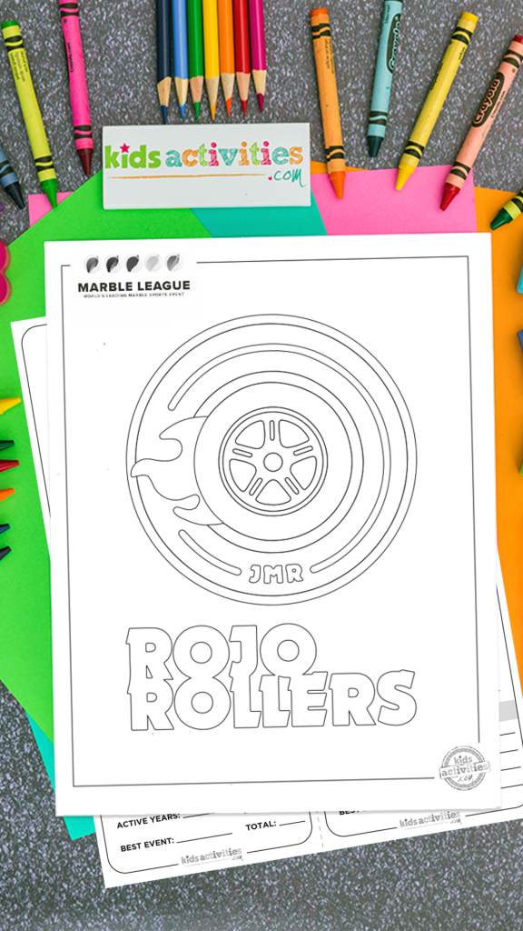 Rojo Rollers 2020 Marble League Printables
