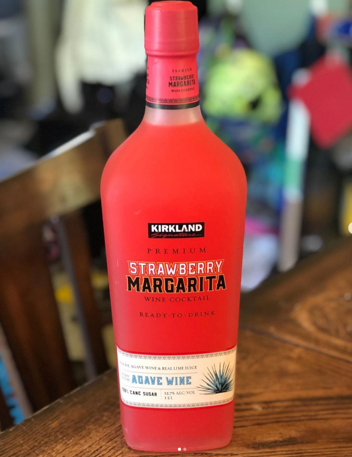 Costco Is Selling 9 Bottles Of Ready To Drink Strawberry Margarita