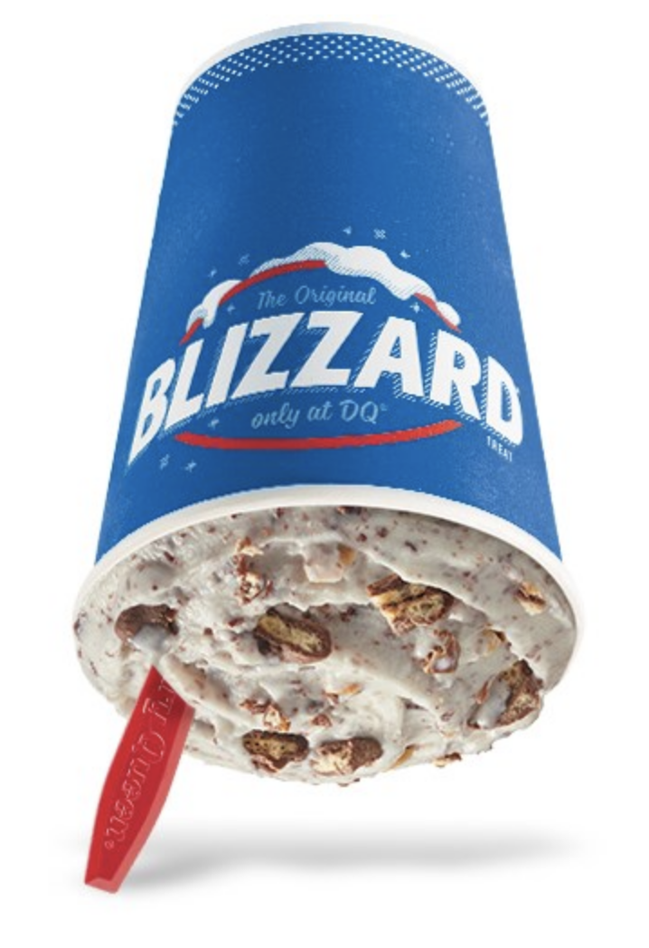 Dairy Queen Released A New Drumstick Blizzard and I'm On My Way