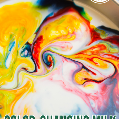 Super Cool Color Changing Milk Experiement For Kids