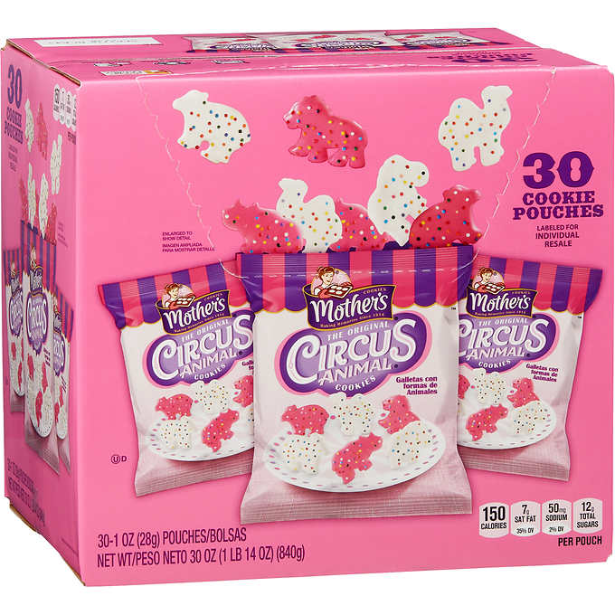 Costco Is Selling 30 Count Boxes Of Mother's Circus Animal Cookies and I Need It